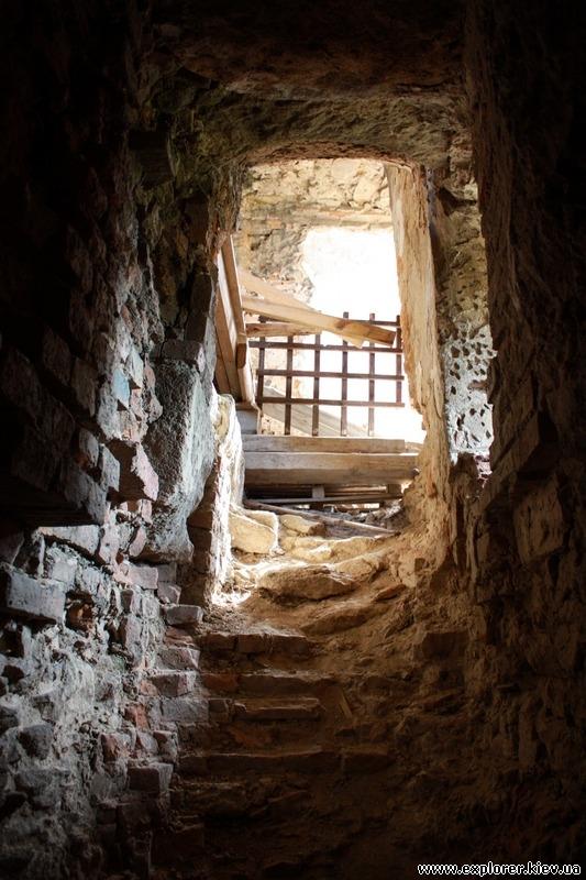 Спуск в подвал (закрыт к посещению)