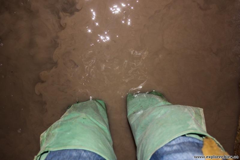 Максимальный уровень воды в ДОТе