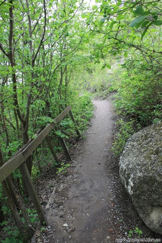 Дорога и забор