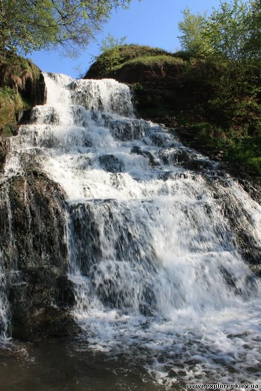 Высота водопада
