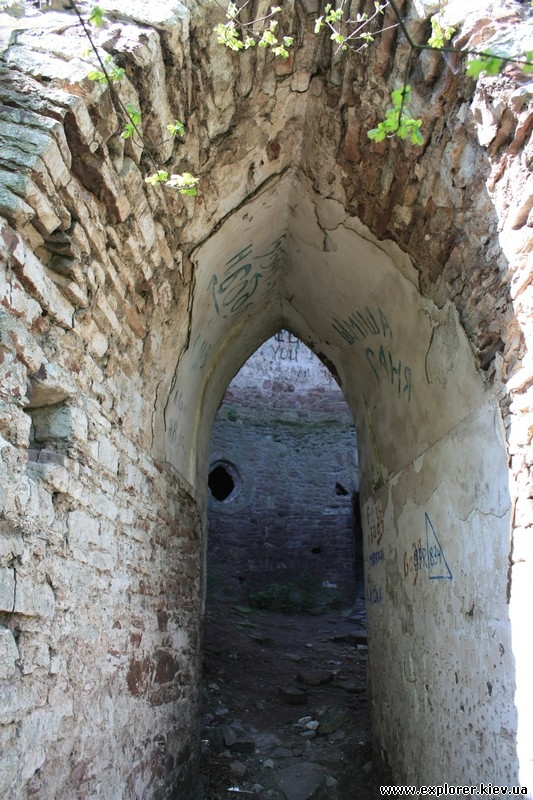 Проход между стенами
