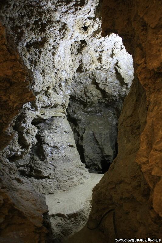 Ответвление ходов пещеры
