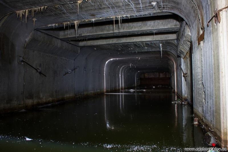 Внутри туннеля
