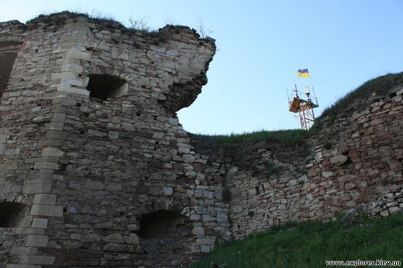 Часть стены замка