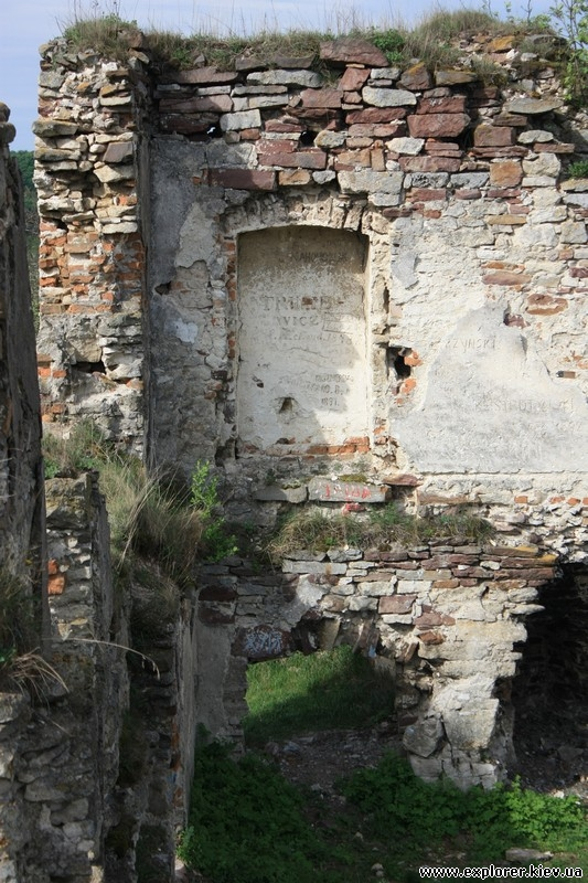 Арка внутри стены