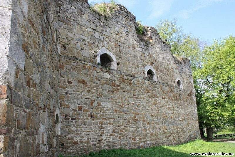 Стена и арки