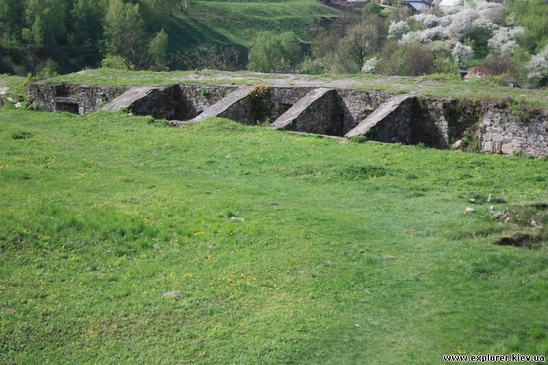 Внутри Теребовлянского замка