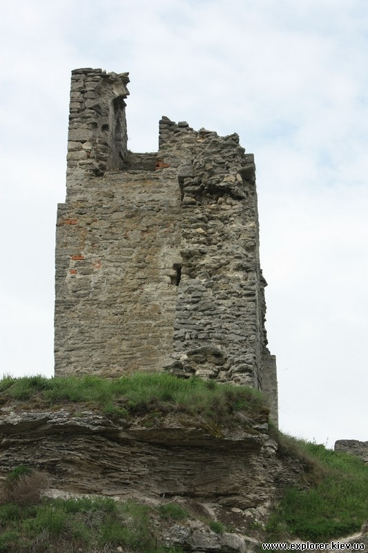 Башня замка в Кременце
