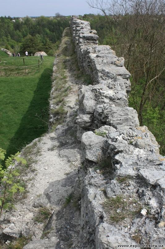 Боковая оборонительная стена