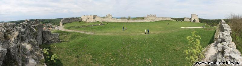 Еще одна панорама замка