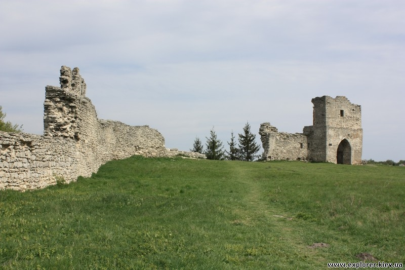 Развалины Кременецкого замка