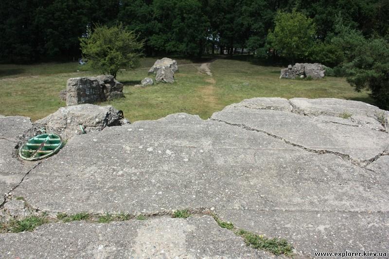Руины бункера