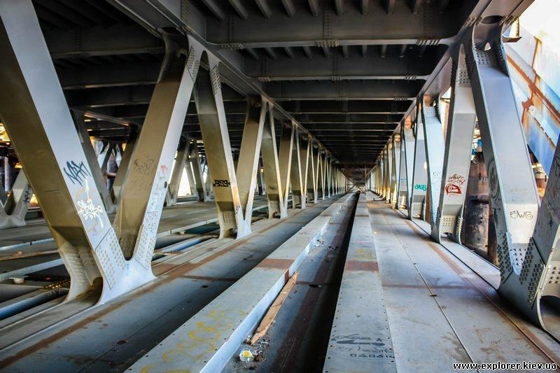 Нижний ярус моста (линия метро)