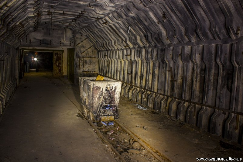 Макет угольной шахты