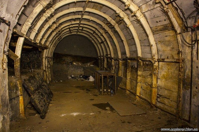 Галерея шахты