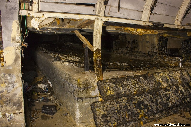 Макет угольной выработки