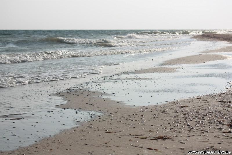 Волны на берегу