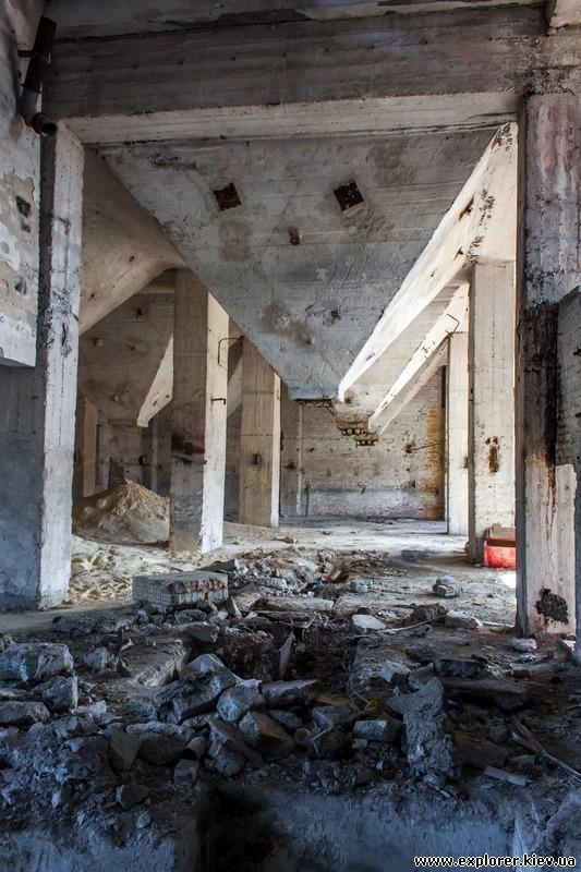 Заброшенный цех завода Радикал