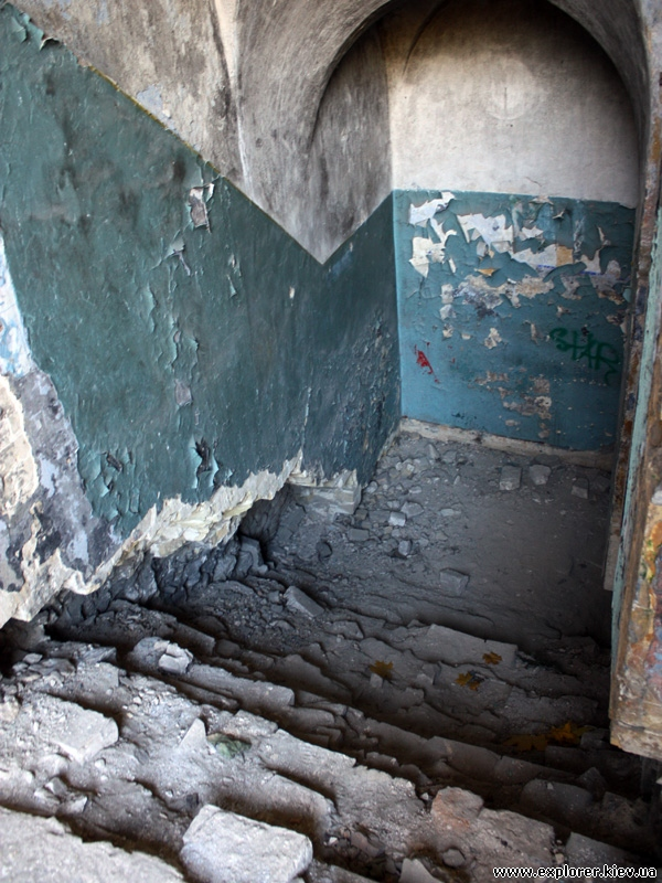 А это лестница на второй этаж