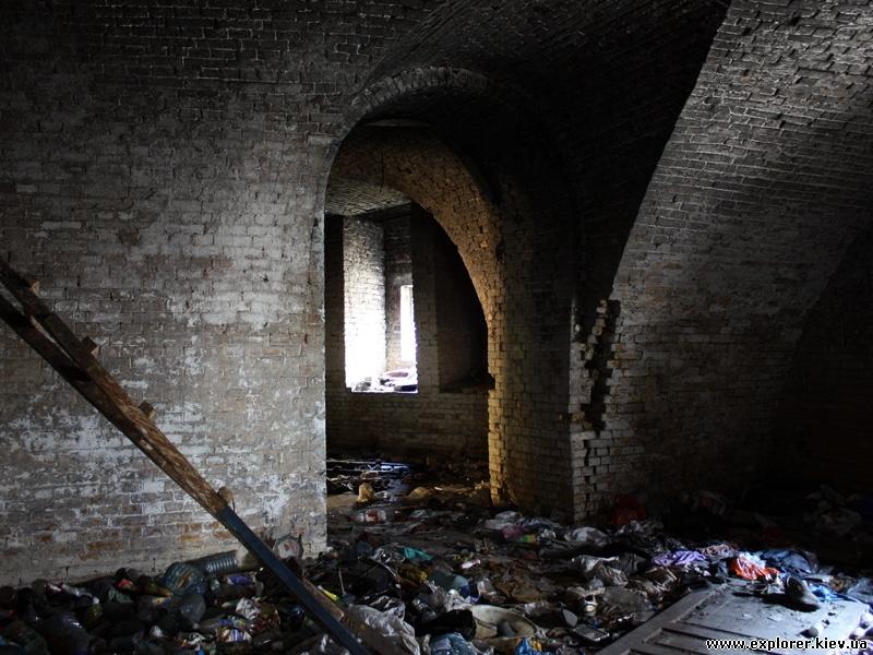 Капонир №4 Госпитального замка Киевской крепости