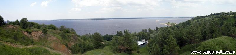 Панорама Киевского моря