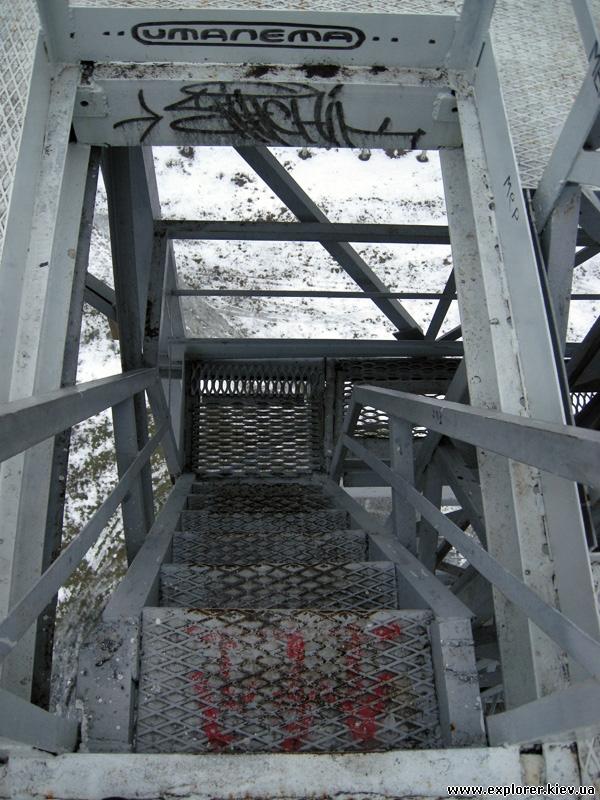 Лестница вышки