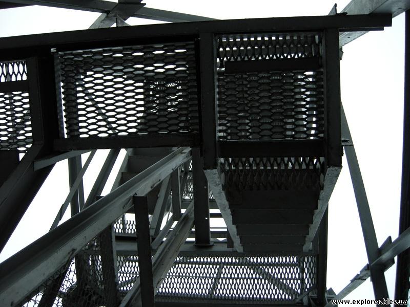 Лестница парашютной вышки