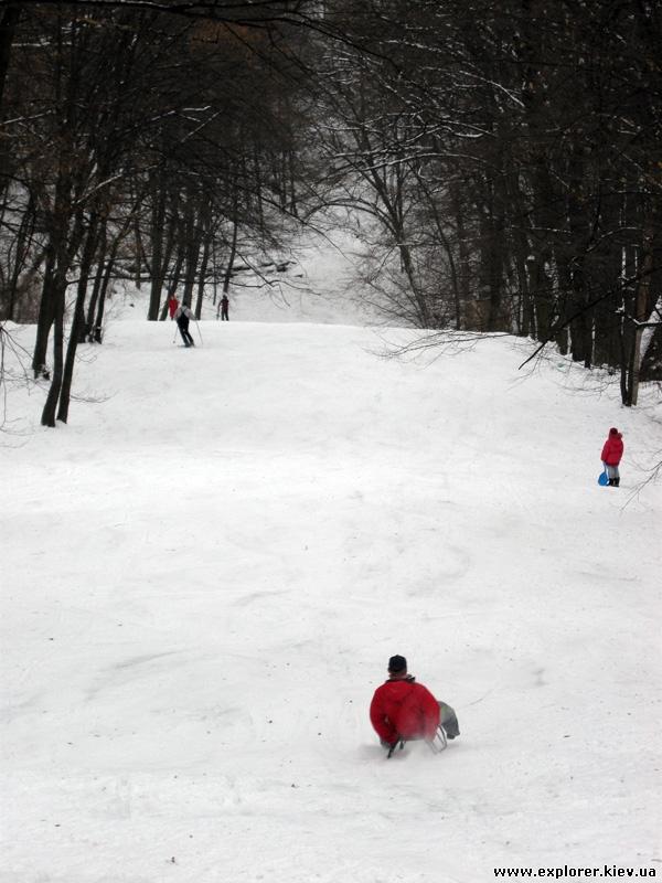 Лыжный склон
