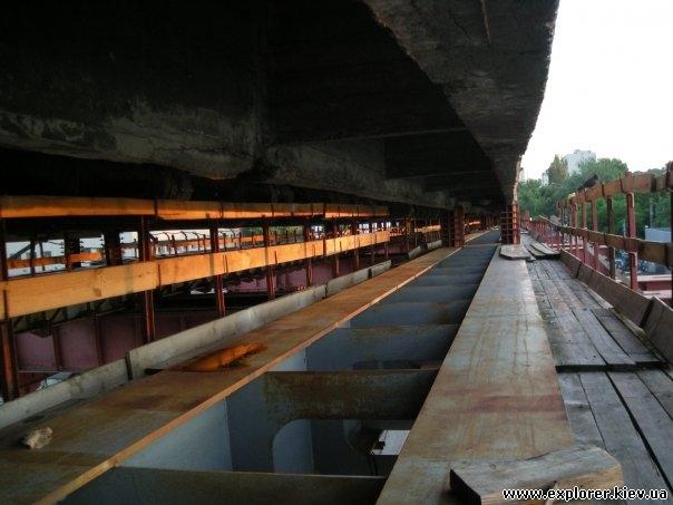 Основа моста на Рыбальский полуостров