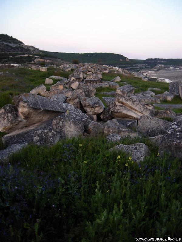 Остатки крепости Каламита