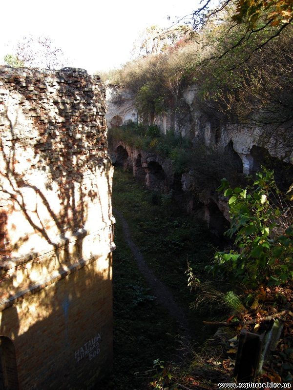 Остатки Таракановского форта