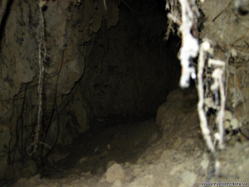 Пещера вид внутри