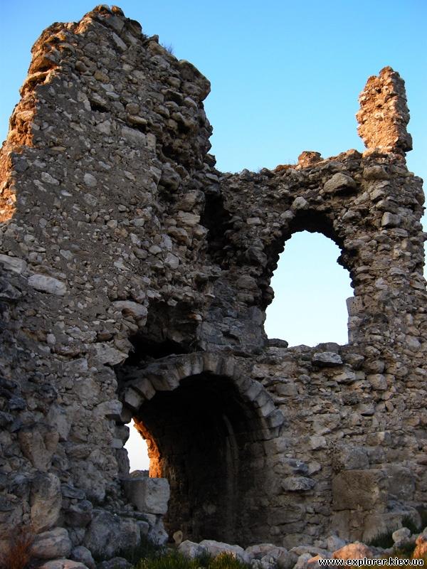 Развалины крепости Каламита