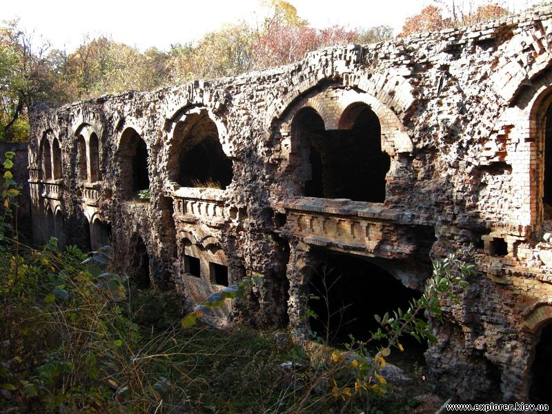Развалины Таракановского форта