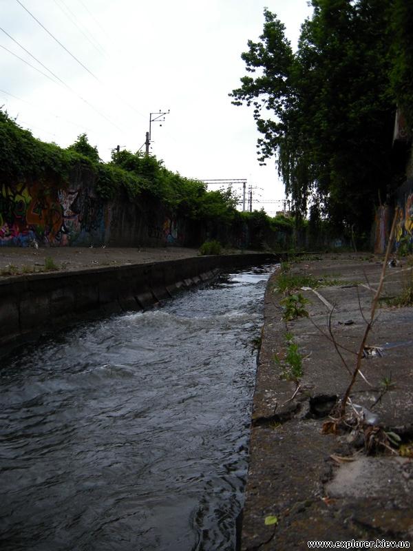 А вот сама река Лыбидь