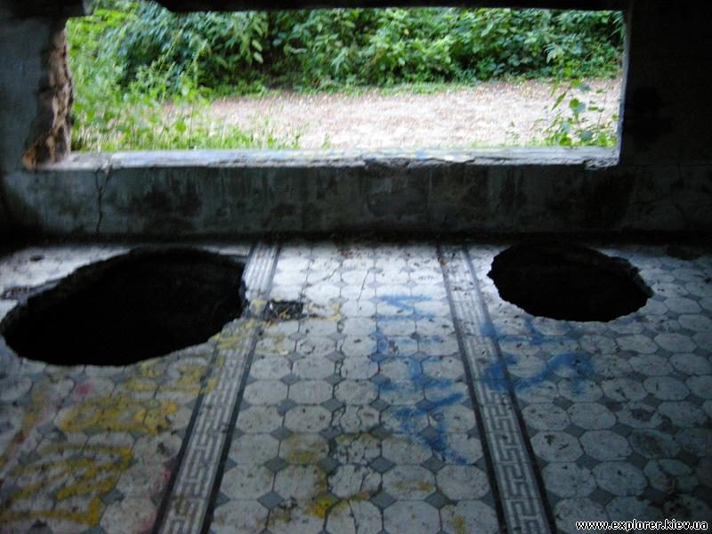 Дыры в полу