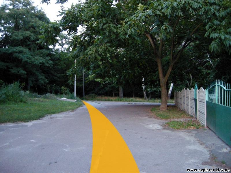 Дорога к склепу (шаг 2)