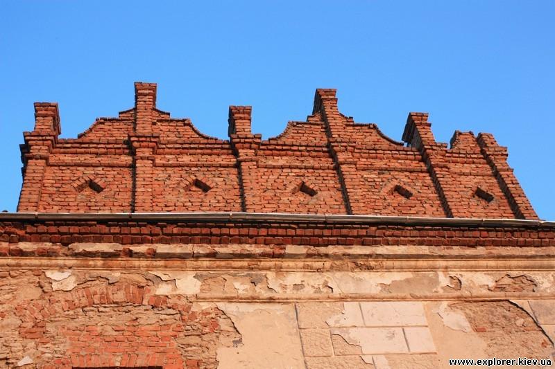 Башня из кирпича