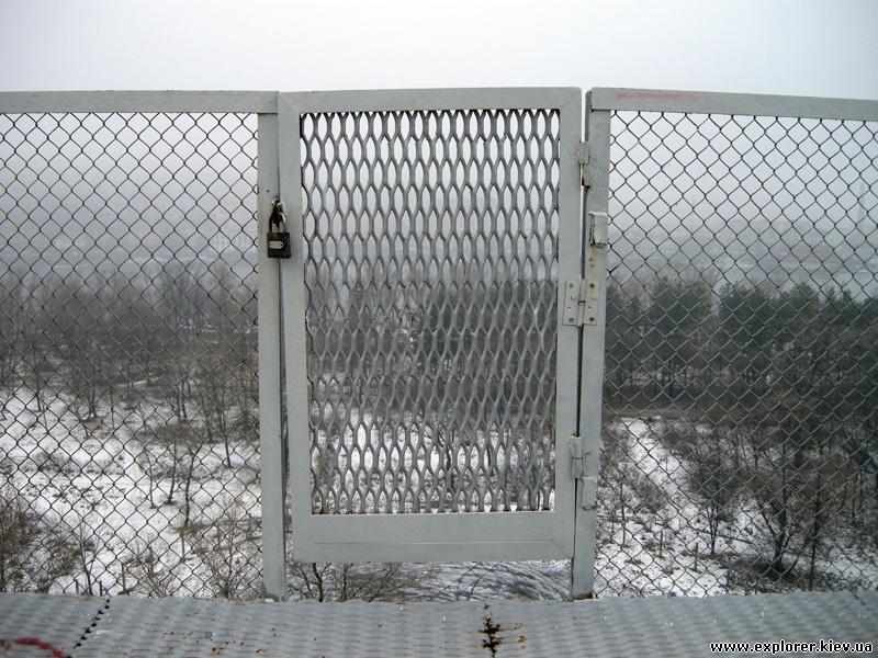 Ограда парашютной вышки