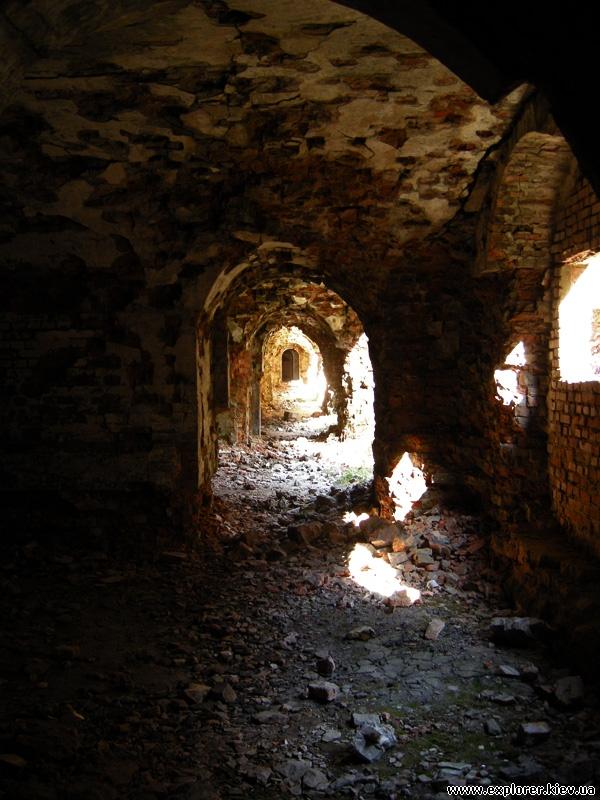 Интерьер форта