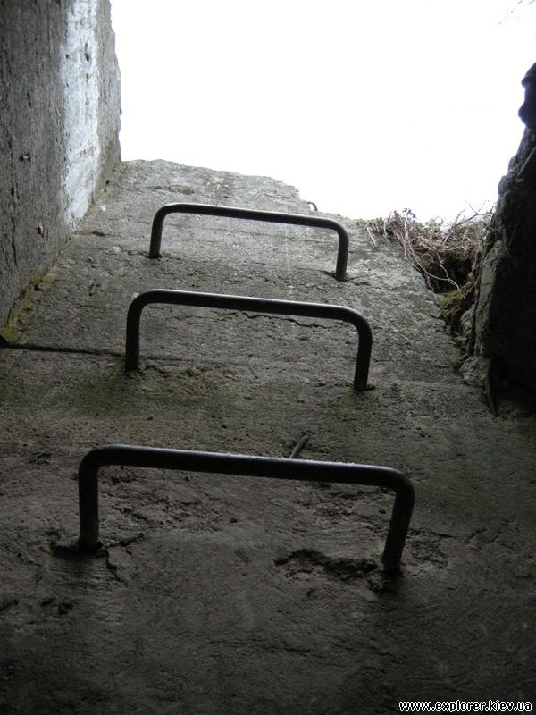 Лестница наружу