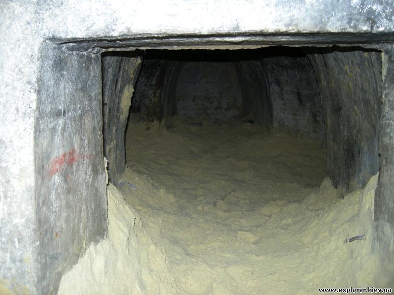 Засыпанный туннель